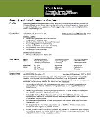 Entry-Level Assistant Principal Resume Templates | entry level banking  resume samples