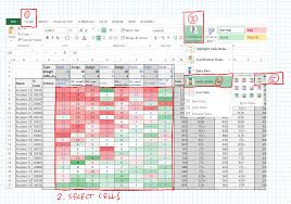 Zpd Range Chart Storing And Making Sense Of Grades Excel To The Rescue