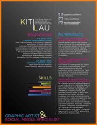 Curriculum Vitae Graphic Artist New 10 Creative Graphic Designer Cv