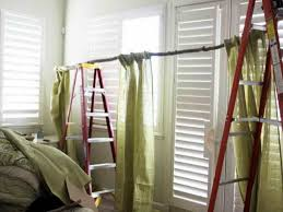 Diy Curtain Rods The Charming Of Diy Curtain Rods Ideas Home Design Lover