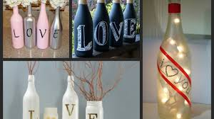 Wine Bottles Decoration Ideas Valentines Bottle Decorating Ideas Diy Bottle Decorations Intended 79