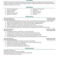 Warehouse Supervisor Resume Samples Warehouse Supervisor Resume ...