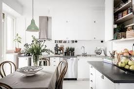 Modern Vintage Interior Design In Swedish Apartment Vintage Modern Unique Modern Vintage Kitchen