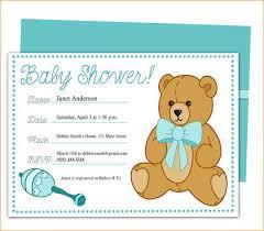 Fine Baby Shower Invitation Sample In 2019 Baby Shower