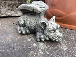 garden ornaments stone dragon garden