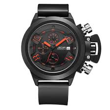 online get cheap watches silicon aliexpress com alibaba group luxury brand black silicone military watches men s