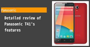 Panasonic T41 Photos, Specs, and ...