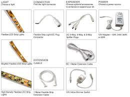 how to assemble an led strip light kit