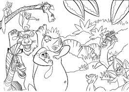 Small Picture printable coloring pages jungle jungle animal scene coloring pages