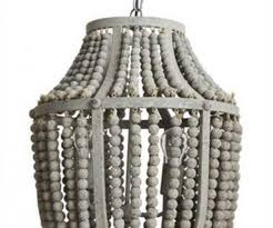 medium size of charming wooden bead chandelier hanging light fixture aged iron in wooden bead