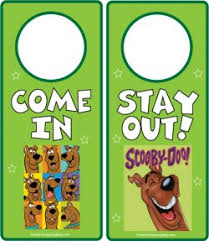 cool door hangers. Scooby Boy Door Hangers Cool