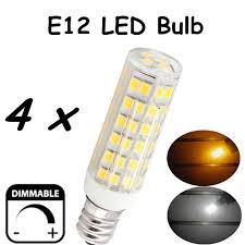 6w e12 candelabra led bulbs 50w equivalent t3 t4 candelabra e12 base bulb for ceiling fan