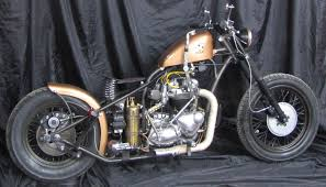 triumph tr6r trophy bobber motorcycle