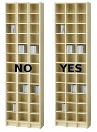 picture of improved shelf cd dvd cabinet with glass doors