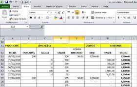 Inventario Excel Excel Para Inventarios