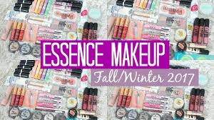 essence fall 2017 collection swatches and review samantha jane