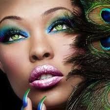 exotic makeup via callie exotic makeup pink lips