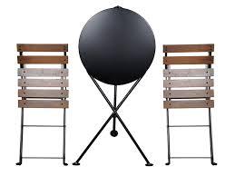24 Inch Round Table amazon mobel designhaus french caf bistro 3leg folding 7514 by xevi.us