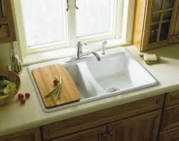 because drop in sinks are considered the standard type of sink you may have