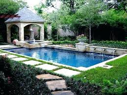 Backyard Pool Designs Landscaping Pools Cool Small Rectangular Pool Rectangular Pool Ideas Rectangular Pool