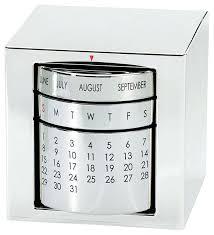 silver desk accessories perpetual calendar cube desk accessories silver desk accessories supplies silver desk accessories
