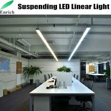 suspended office lighting. Suspended LED Trunking Light, Linear Light For Office Lighting