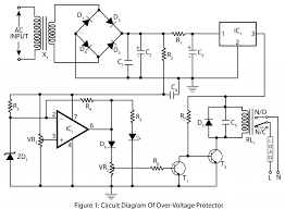 over voltage protector electronics project electronic circuit diagrams at Electronic Circuit Diagrams