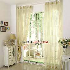 yellow curtains sheer loading zoom yellow and green striped sheer curtain yellow sheer curtains uk