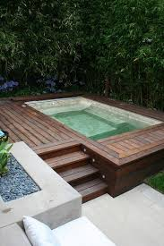 Small Pool Designs For Small Backyards Gorgeous Inspiration Beautiful AboveGround Pools Small Pools Pinterest