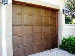 paint for metal garage door ideas painting