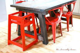 restaurant high chair fancy tray for wooden