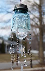 view in gallery mason jar wind chimes