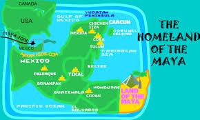 maps mayan kids Mayan Cities Map Mayan Cities Map #13 mayan city map