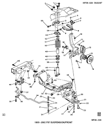 1999 chevrolet camaro front suspension schematics diagram front