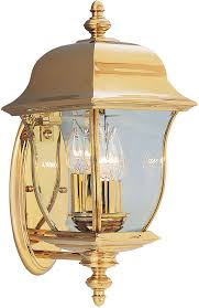 designers fountain 1542 pvd pb gladiator polished brass outdoor lighting sconce loading zoom