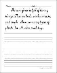Handwritting Practice Cursive Writing Handwriting Practice Sentences Abcteach