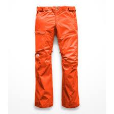 Sickline Pants Valencia Orange Womens The North Face Snow Pants