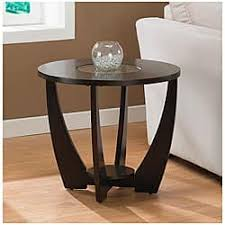 Gracewood Hollow Archer Espresso End Table with Shelf