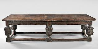 elizabethan oak withdrawing table late 16th early 17th century sold via skinner for 6 150 on july 18 2016