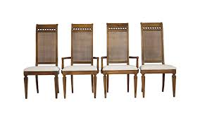 thomasville cane back dining chairs janney s collection dining chairs cane back room ideas thomasville set