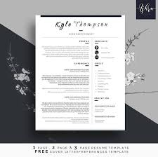Cv Resume Template For Word Modern Resume Template Cover