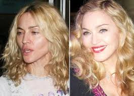 celebs without makeup before and after celebrities without makeup
