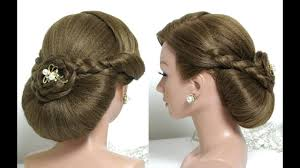 Wedding Bridal Hairstyle bridal hairstyle for long hair tutorial wedding updo with braids 4643 by stevesalt.us