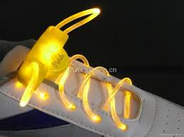 led flashing light up shoe laces for party use 5