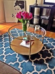 ikea diy round coffee table