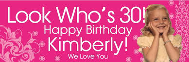 happy birthday banners personalized customized birthday banners custom printed banners balloons tomorrow