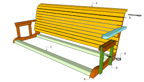 How To Build A Porch Swing Free Plans For Porch Swings Diy Guide To Adirondack Chair Plans