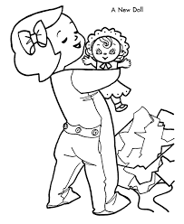 Small Picture Awesome Baby Doll Coloring Pages 82 About Remodel Free Colouring