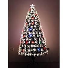 Youseexmas 4FT Green Fiber Optic Christmas Tree Color Changing UK Black Fiber Optic Christmas Tree