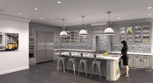 Modern Gray Kitchen South Shore Decorating Blog Gorgeous Gray